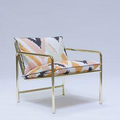 Eric Trine copper tube + grid copper chair