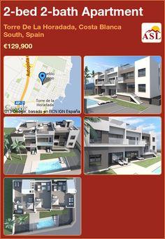 2-bed 2-bath Apartment in Torre De La Horadada, Costa Blanca South, Spain ►€129,900 #PropertyForSaleInSpain
