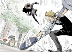 Izaya and Shizuo invading Ghibli suddenly seems like a very appocalyptic idea xD