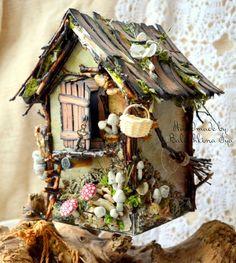 gingerbread house: избушка бабы-яги.. МК!!!!!