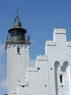 Tunø church and lighthouse - Denmark