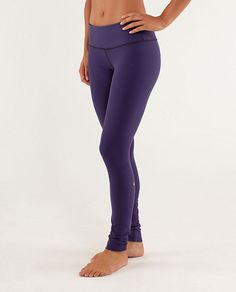 Brightly colored Lululemon Wunder Under Pants and Crops