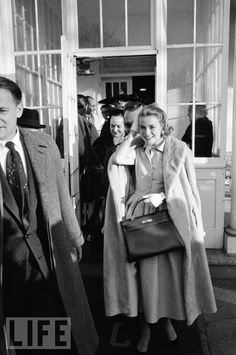 Day of engagement at The Country Club, in  Philadelphia.....Jan 5/56