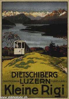 Dietschiberg, Luzern, Kleine Rigi
