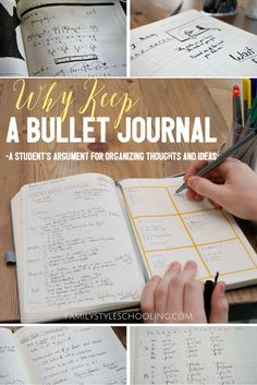Why Keep a Bullet Journal? A Students Argument For Organizing Thoughts and Ideas - DIY Papier Bullet Journal Student, Bullet Journal Key, Bullet Journal Printables, Bullet Journal Layout, Bullet Journal Inspiration, Bullet Journals, Journal Ideas, Journal Entries, Diy Papier