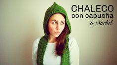 Chaleco con Capucha a Crochet - TODAS LAS TALLAS - DIY Paso a Paso