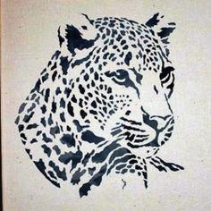 Wood Burning Stencils, Wood Burning Patterns, Wood Burning Art, Stencil Animal, Stencil Painting, Lion Stencil, Pyrography Patterns, Animal Silhouette, Scroll Saw Patterns