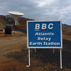 BBC Atlantic Relay Earth Station  Ascension Island Ascension Island, Bbc, Earth, Places, Travel, Viajes, Destinations, Traveling, Trips