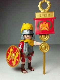 Playmobil porta estandarte romano aquilifer
