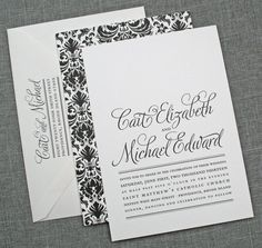 I WISH I CAN MAKE A HANDMADE WEDDING INVITE THIS GOOD