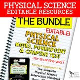Physical Science Curriculum - Notes, PowerPoint & Chapter
