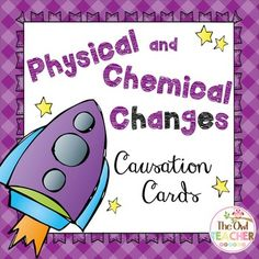 Causation cards are the hottest thing in the classroom since task cards!  These cards are a fun, interactive way to review vocabulary and concepts that students need to learn. In addition, this engaging activity helps improve fluency and listening skills. These cards review physical and chemical changes along with their signs and examples.  $