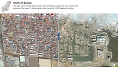 Before and After the Tsunami: http://www.nytimes.com/interactive/2011/03/13/world/asia/satellite-photos-japan-before-and-after-tsunami.html?ref=multimedia