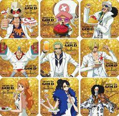 One piece film: GOLD Mugiwara pirates
