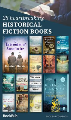 Powerful, poignant, and moving, these heartbreaking books are required reading for anyone who loves the historical fiction genre. Some of our biggest historical fiction readers weighed in — and this is what they chose! Book Suggestions, Book Recommendations, Book Of Love, Best Books To Read, Best Book Club Books, Best Fiction Books, Great Books, Historical Fiction Novels, Book Challenge