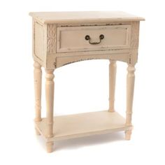 Bailey Cream Accent Table #Kirklands #PinitPretty