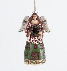 2013 Jim Shore, Angel With Wreath Ornament (Pre-Order Item. June Delivery)