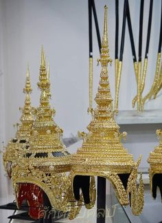 Thailand, Costume, Crown, Traditional, Antiques, Jewelry, Fashion, Antiquities, Moda