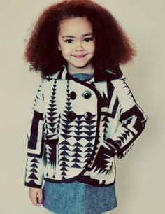 Cutest little girl like EVER! #NaturalKids #NaturalHair