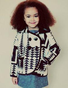 Cutest little girl like EVER! #NaturalKids #NaturalHair