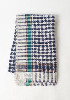 Karierte Baumwolle werfen von Hokoda auf Etsy, $68.00