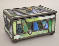 deviantART: More Like Unity Within Variety stained glass box by ~SarahD1988