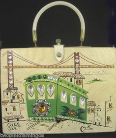 Enid Collins Cable Car purse