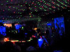 Lights OUT Laser Black Light Party with DJ Landon