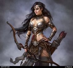 female archer Fantasy