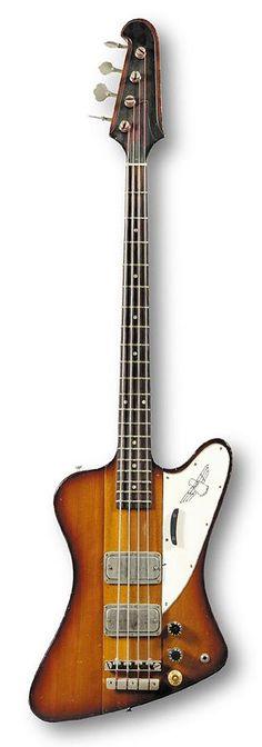 1964 Gibson Thunderbird IV Bass, serial no. 160065.