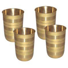 brass wine glasses, brass glasses