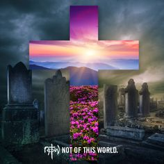 """""""Where, O death, is your victory? Where, O death, is your sting?"""" The sting of death is sin, and the power of sin is the law. But thanks be to God! He gives us the victory through our Lord Jesus Christ."""" 1 Corinthians 15:55-57 #JesusLives #NotOfThisWorld"""