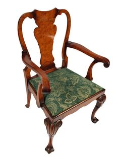 Antique Chairs, Furniture Styles, Queen Anne, Rocking Chair, Dining Chairs