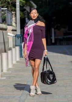 BlasianGurl, Victoria Kristine, Fashion Blogger, Toronto Blog, Dynamite Clothing, Rudsak, Fall Fashion