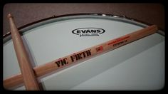 Evans G1 and Vic Firth Extreme 5A
