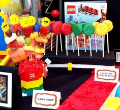 Legos Birthday Party Ideas | Photo 5 of 36 | Catch My Party