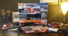 MTH RAILKING FIRST RESPONDERS NORFOLK SOUTHERN DASH-8 RTR SET 30-4239-1