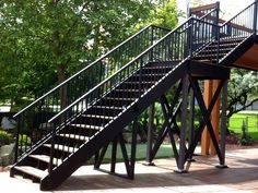 Stair Railings - Custom Built Stair Guardrails and Adjustable Stair Panels Stair Railing Parts, Railings, Stair Panels, Stairs, Metal, Building, Projects, Home Decor, Log Projects