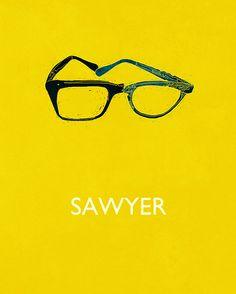 Sawyer's glasses