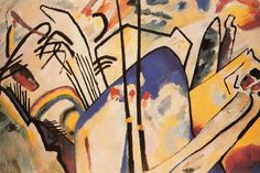 https://flic.kr/p/5WdqnV | Kandinsky, Wassily (1866-1944) - 1911 Composition IV | Wassily Wassilyevich Kandinsky was a Russian painter, and art theorist. He is credited with painting the first modern abstract works. He started painting studies (life-drawing, sketching and anatomy) at the age of 30. In 1896 he settled in Munich and studied at the Academy of Fine Arts. He went back to Moscow in 1914 after World War I started. He was unsympathetic to the official theories on art in Moscow and…