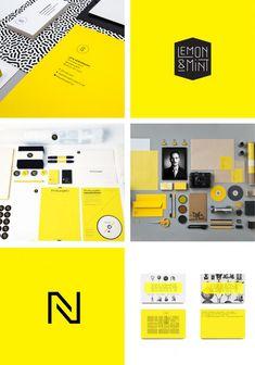 Yellow Branding Design Inspiration | OCHER