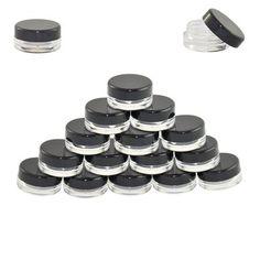 3g Cosmetic Sample Jar Close up View