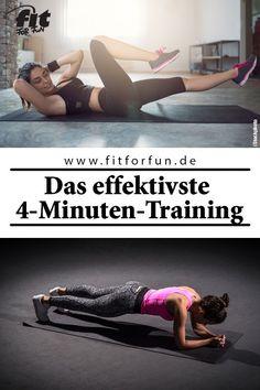 4 Minuten Tabata-Training können genau so effektiv sein wie eine Stunde auf dem Crosstrainer. Wir verraten dir wie! #abnehmen #fatburning #tabata #workout #fitness #fithacks