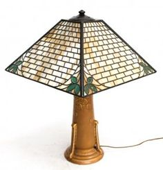 Fine Rookwood, Handel Arts & Crafts Lamp