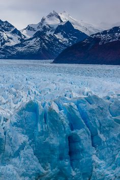 Perpetual - Perito Moreno Glacier in Patagonia. The perpetual renewal
