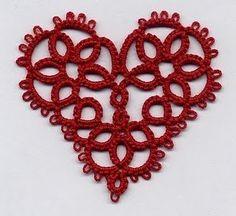 Coeurs en frivolité