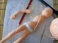 Mesmerizing Crochet an Amigurumi Rabbit Ideas. Lovely Crochet an Amigurumi Rabbit Ideas. Doll Amigurumi Free Pattern, Crochet Toys Patterns, Stuffed Toys Patterns, Amigurumi Doll, Crochet Dolls, Crochet Yarn, Doll Patterns, Knitting Patterns, Knitting Toys