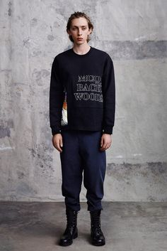 McQ Alexander McQueen Spring 2015 Menswear Fashion Show