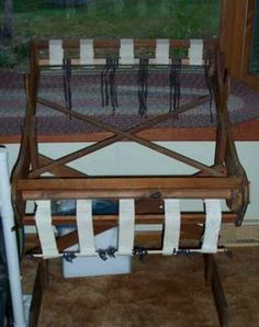 Union Loom Works No 36 Weaving Floor Loom Rag Rug Woven