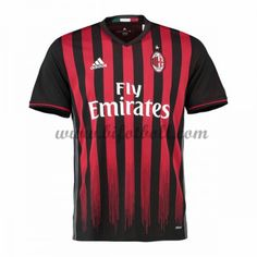 bbbedef0a Mens adidas AC Milan Home Shirt 2016 2017 Large HH 13 for sale online